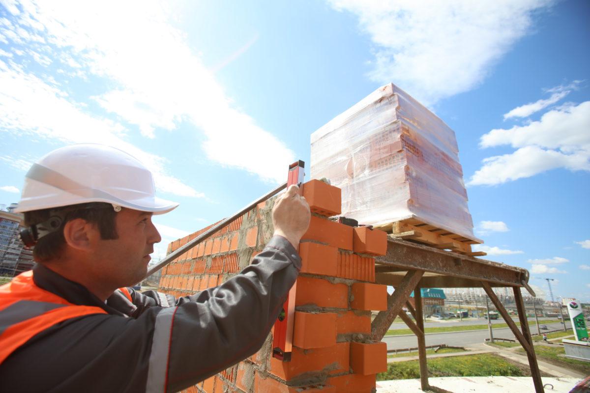 строитель мужчина