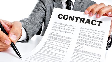 заключение контракта фото